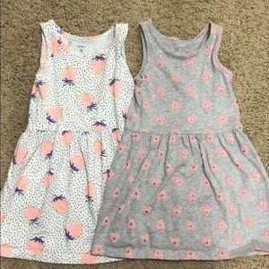 Carter's cotton dress bundle